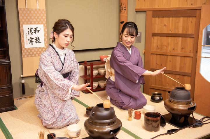 茶道体験+着物・浴衣レンタルプラン